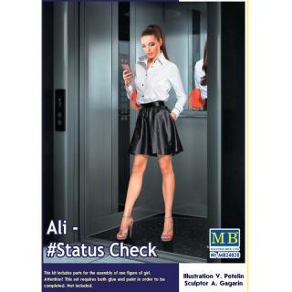 Dangerous Curves Series. Ali - #Status Check - Master Box 1/24