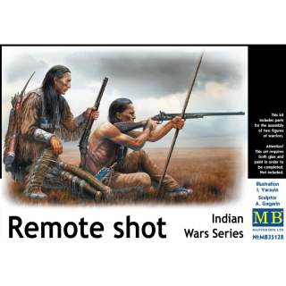 Remote shot (Indian Wars Series) - Master Box 1/35