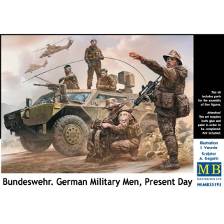 Bundeswehr. German Military Men, Present Day - Master Box 1/35