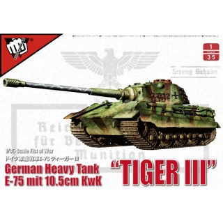 German E-75 mit 10,5cm KwK Tiger III - Modelcollect 1/35