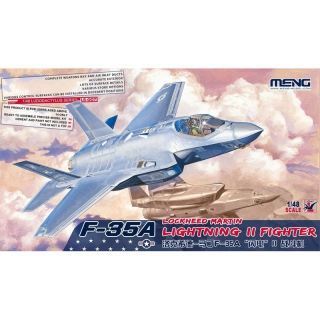 F-35A Lightning II Fighter - Meng Model 1/48