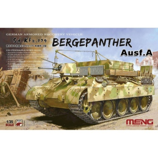 Bergepanther Ausf. A (Sd.Kfz.179) - Meng Model 1/35