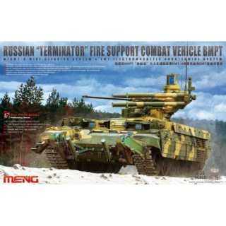 Russian Terminator Fire Support Combat Vehicle BMPT - Meng Model 1/35