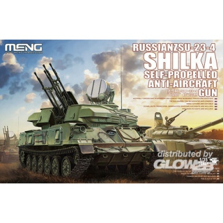 Russian ZSU-23-4 SHILKA Self-Propelled Anti-Aircraft Gun - Meng Model 1/35