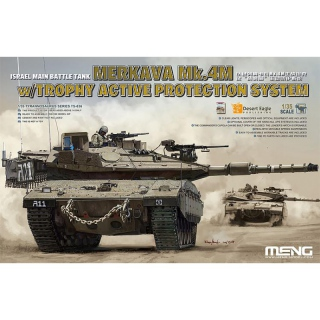 Merkava Mk.4M w. Trophy Active Protection System - Meng Model 1/35