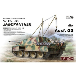 Jagdpanther Ausf. G2 (Sd.Kfz.173) - Meng Model 1/35