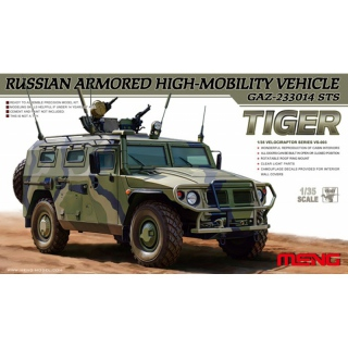 Russian Armored HMV GAZ-233014 STS Tiger - Meng Model 1/35