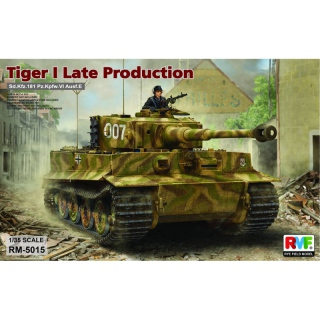 Panzer VI Tiger I (spät) - Rye Field Model 1/35