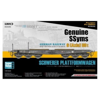 Schwerer Plattformwagen Type SSyms (Super Value Edition) - Sabre Model 1/35