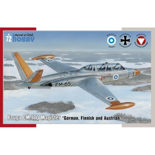 Fouga CM.170 Magister German, Finnish and Austrian - Special Hobby 1/72