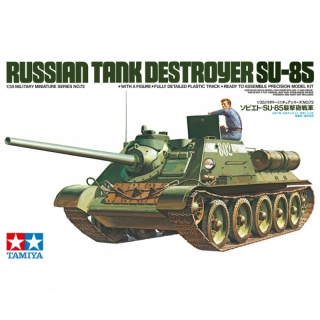 SU-85 Russian Tank Destroyer - Tamiya 1/35