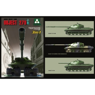 Soviet Heavy Tank Object 279 (3in1) - Takom 1/35