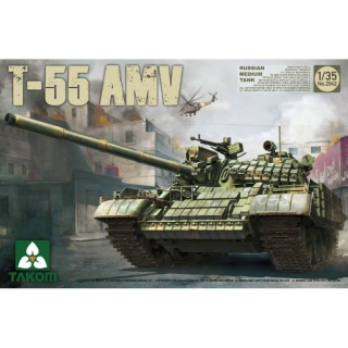 T-55 AMV Russian Medium Tank - Takom 1/35