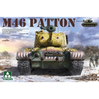 M46 Patton US Medium Tank - Takom 1/35