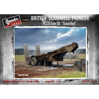 British Scammel Pioneer TRCU30 Trailer Goose Neck - Thunder Model 1/35