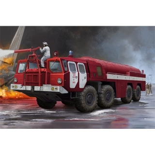 Airport Fire Fighting Vehicle AA-60 (MAZ-7310) 160.01 - Trumpeter 1/35