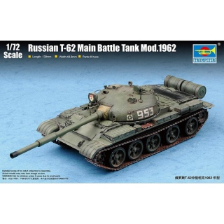 Russian T-62 MBT Mod.1962 - Trumpeter 1/72
