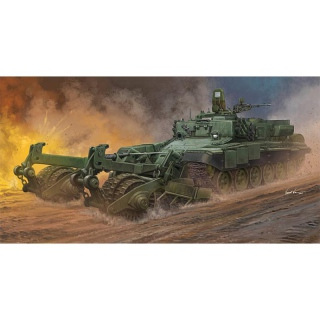 Russian Armored Mine-Clearing Vehicle BMR-3 - Trumpeter 1/35