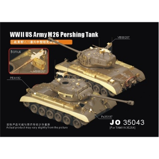 1/35 WWII US Army M26 Pershing Tank (for Tamiya 35254)