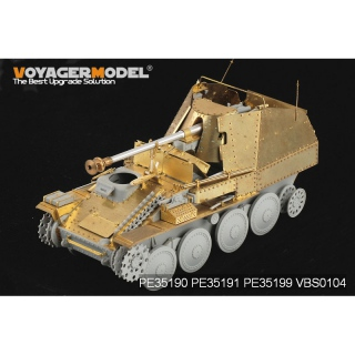 1/35 WWII German Marder III Ausf.M initial Production Armour Plate (for Dragon 6464)