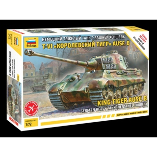 1:72 King Tiger Henschel